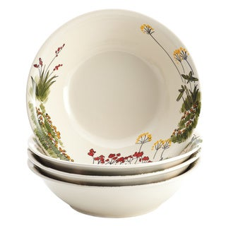 Paula Deen 'Southern Rooster' 4-piece Stoneware Soup and Pasta Bowl Set