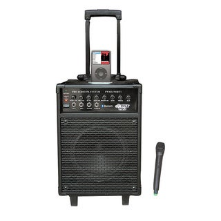 Pyle PWMA940BTI 600 Watts VHF Wireless Portable PA System w/Microphone, i-Pod Dock & Bluetooth (Refurbished)