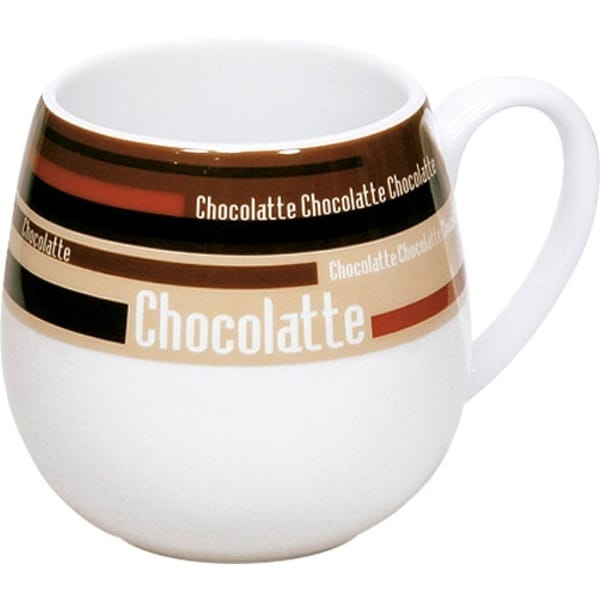 Konitz Snuggle Mugs Choco Stripes Brown (Set of 2)