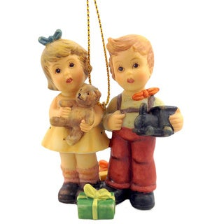 M I Hummel Christmas Wishes Ornament