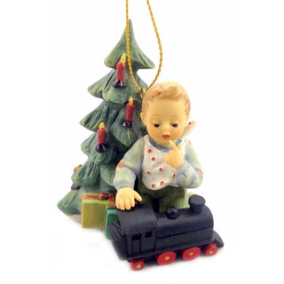 M I Hummel Full Speed Ahead Ornament