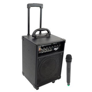 Pyle PWMA230 200W VHF Wireless Battery Powered PA System (Refurbished)