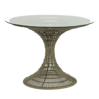 Waterfountain Round All Weather Wicker Table