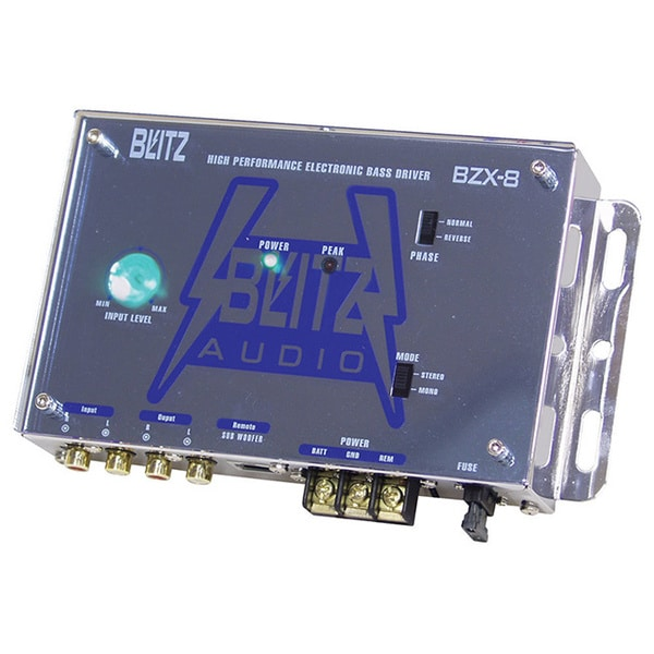 Blitz BZX8 High Performance Electronic Crossover Bass Driver Network (Refurbished)