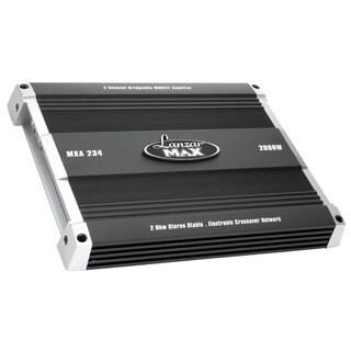 Lanzar MXA234 2000 Watt 2 Channel Bridgeable MOSFET Amplifier (Refurbished)