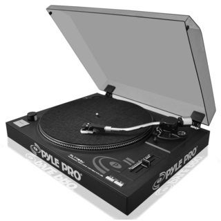 Pyle PLTTB3U Belt Drive USB Turntable with Digital Recording Software (Refurbished)