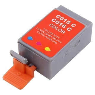 BasAcc Cyan Ink Cartridge Compatible with Canon BCI-15C/ BCI-16C