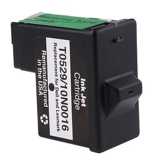 INSTEN Lexmark 16/ 17/ Dell T0529 Black Ink Cartridge (Remanufactured)