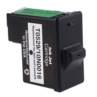 Lexmark 16/ 17/ Dell T0529 Black Ink Cartridge (Remanufactured)