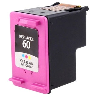 INSTEN HP 60 Color Ink Cartridge (Remanufactured)