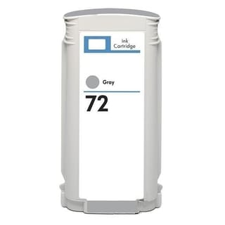 HP 72 Gray Ink Cartridge (Remanufactured)