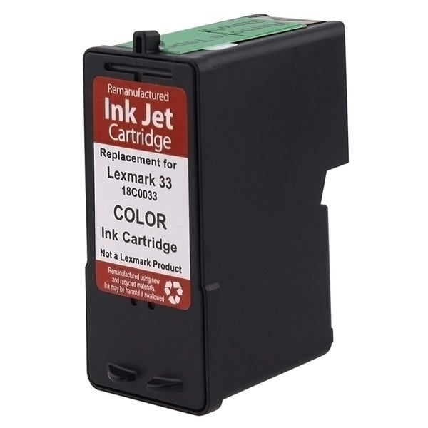 INSTEN Lexmark 33 Color Ink Cartridge (Remanufactured)