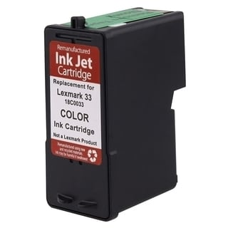 Lexmark 33 Color Ink Cartridge (Remanufactured)