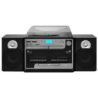 PylePro PTTCSM60 Turntable Boombox Multimedia System (Refurbished)