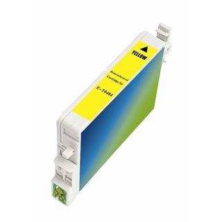 INSTEN Epson T048420 Yellow Ink Cartridge (Remanufactured)