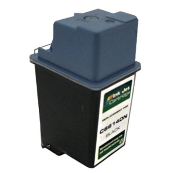 INSTEN HP 20 Black Ink Cartridge (Remanufactured)