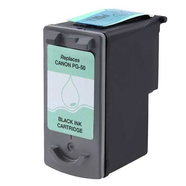 INSTEN Canon PG-50 Black Ink Cartridge (Remanufactured)