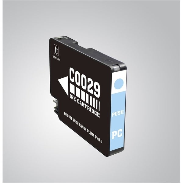 INSTEN Photo Cyan Ink Cartridge for Canon PGI-29 PC
