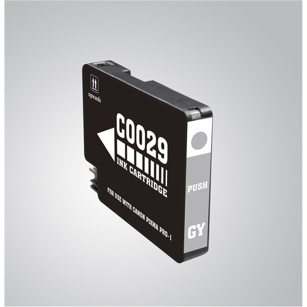 INSTEN Grey Ink Cartridge for Canon PGI-29 GY
