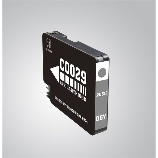 INSTEN Dark Grey Ink Cartridge for Canon PGI-29 DGY