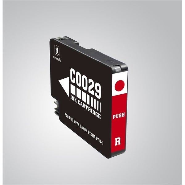 INSTEN Red Ink Cartridge for Canon PGI-29 R
