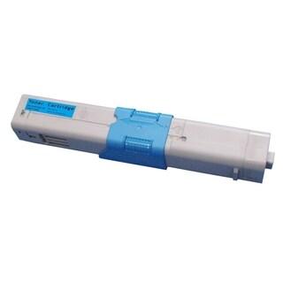 Insten Premium Cyan Color Toner Cartridge 44469703 for Okidata C330/ C330dn/ MC351/ MC361