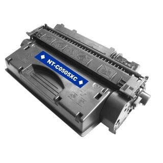 BasAcc Black Toner Cartridge Compatible with HP CE505X