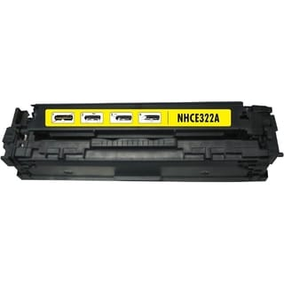 BasAcc Yellow Toner Cartridge Compatible with HP CE322A/ Canon 128A