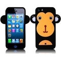 BasAcc Black Monkey Silicone Case for Apple iPhone 5