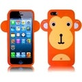 BasAcc Orange Monkey Silicone Case for Apple iPhone 5
