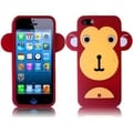 BasAcc Red Monkey Silicone Case for Apple iPhone 5