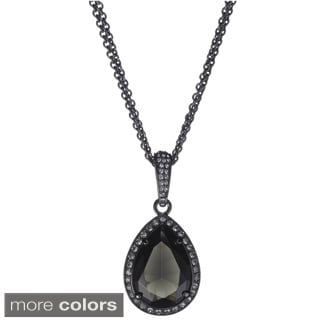 Amabel Designs' Titanic Inspired Crystal Tear Drop Necklace