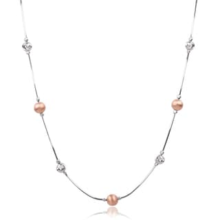 Journee Collection Sterling Silver Necklace