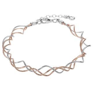 Tressa Collection Sterling Silver Bracelet