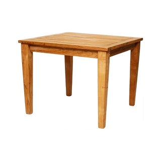 Square 36-inch Grade A Teak Outdoor Dining Table