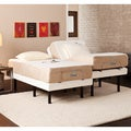 myCloud Adjustable Bed Split King-size with 10-inch Gel Infused Memory Foam Mattress