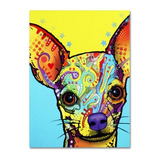 Dean Russo 'Chihuahua' Canvas art