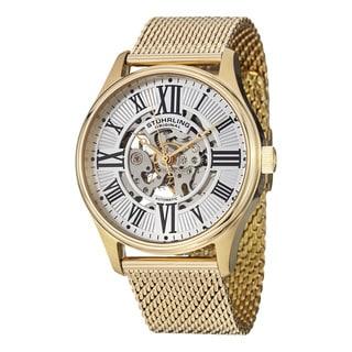 Stuhrling Original Men's Atrium Elite Automatic Bracelet Bracelet Watch