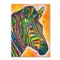 Dean Russo 'Zebra' Canvas art