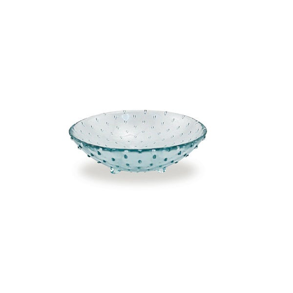 Small Glass Footed Bowl