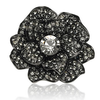 Amabel Designs Camillia Crystal Statement Ring