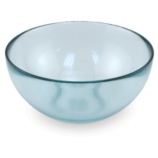 Medium 1-liter Glass Serving Bowls (Set of 2)