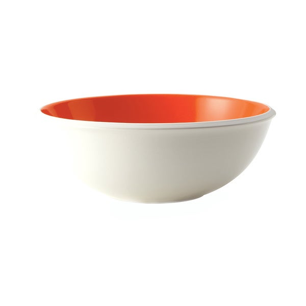 Rachael Ray Dinnerware Rise 10-inch Orange Stoneware Serving Bowl 12043944