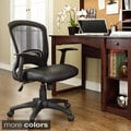 Pulse Mesh Office Chair with Adjustable Black Vinyl Seat