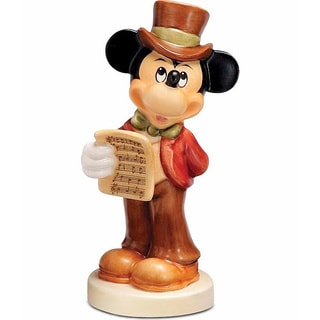 Goebel Harmony in Four Parts Mickey Mouse Porcelain Figurine