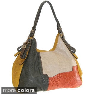 Buxton Victoria Leather Hobo