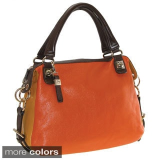 Buxton Hailey Leather Shoulder Bag