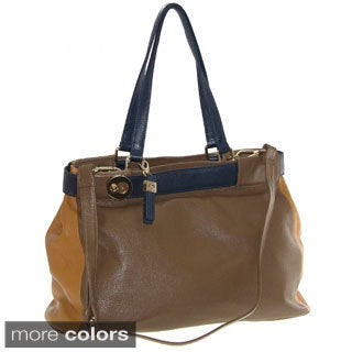 Buxton Hailey Leather Tote