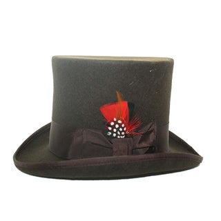 Ferrecci Men's Brown Top Hat