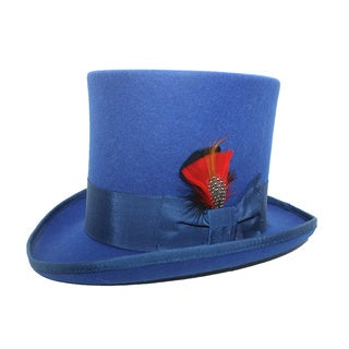 Ferrecci Men's Royal Blue Top Hat
